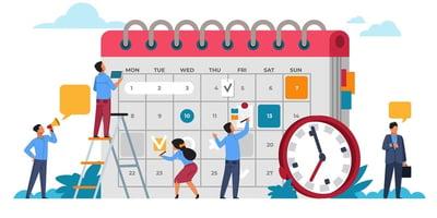 Illustration of a calendar.