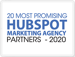 Connection Model named Top 20 HubSpot Marketing Agency Partner